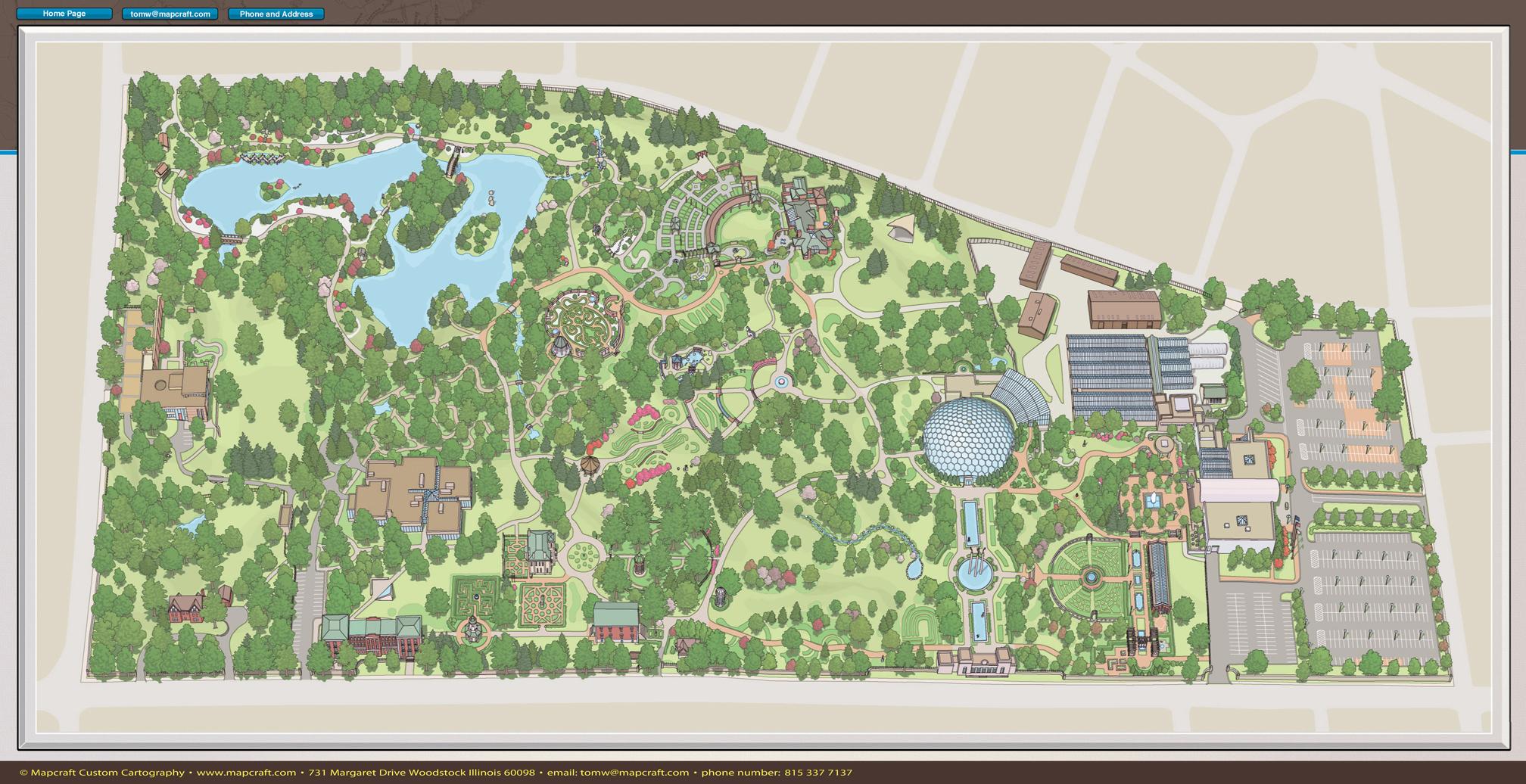 Mapcraft Custom Cartography Missouri Botanical Garden